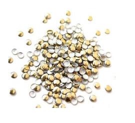 Gold Round Studs - 3mm