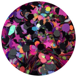 Nail Deco Glitter Mix - 24