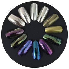 Nail Deco Mirror Effect Pigment (Chrome)