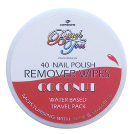 Beach Toes Nail Remover Wipes