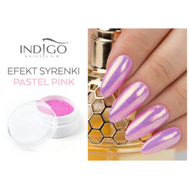 Indigo  Mermaid Pastel Pink Effect