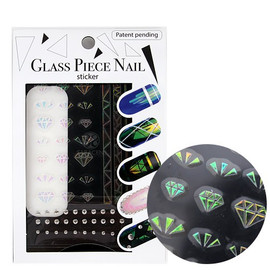 Glass Nail Stickers GFS-01