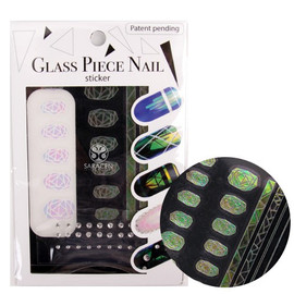 Glass Nail Stickers GFS-09