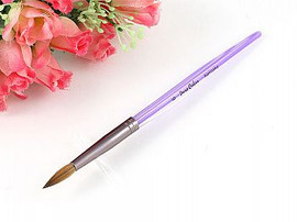 Kolinsky Brush (Oval) Purple #8