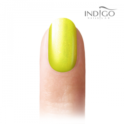 Indigo Mermaid - Neon Yellow