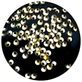Round Studs 2mm - Gold