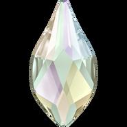 Swarovski Flame Flat Back - Crystal ab