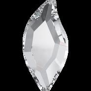 Swarovski Leaf (2797)Crystal 10 pk