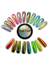 Nail Deco Rainbow Chrome (Aurora)