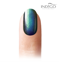 Indigo Pixel Effect - Emerald Black  04