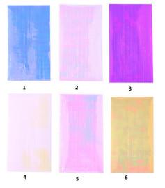 Aurora Striping Tape sheets