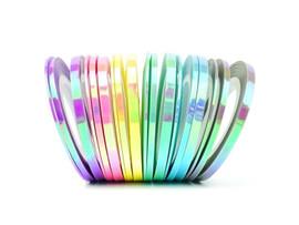 Rainbow Aurora Striping Tape 3 pack
