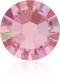 Swarovski Flat Back - Light Rose Ab