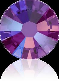 Swarovski Flat Back - Fuchsia  Shimmer