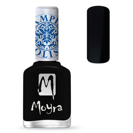 Moyra Black Stamping Polish