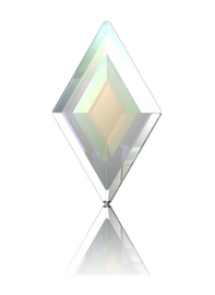 Swarovski Diamond ( 2773) Crystal AB