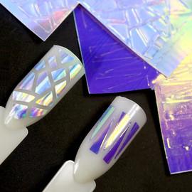 Geometric aurora Stickers