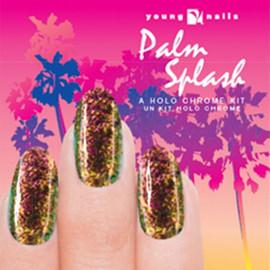 Young nails Palm Splash Chrome Kit