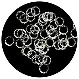 Silver Round Frames
