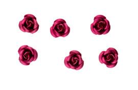 3d Metallic Flowers - Rose