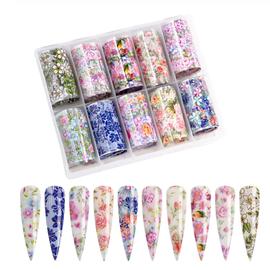Nail art Foil - Floral Kit 1