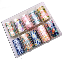 Nail art Foil - Floral Kit 3