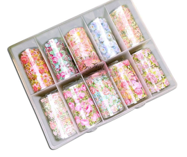 Nail art Foil - Floral Kit 4