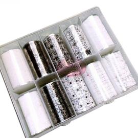 Nail Foil Lace Kit 2