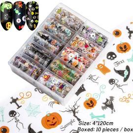 Halloween Nail Foil Kit 1