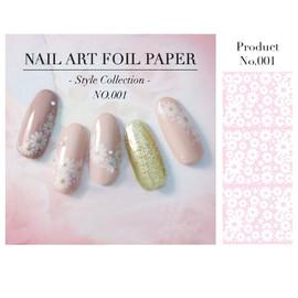 Floral nail Foil - Design 1
