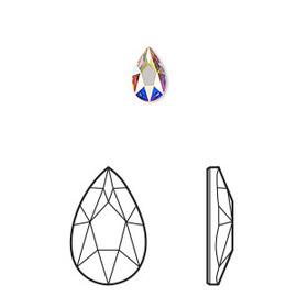 Swarovski Pear - AB (2303)