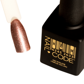 Nail Code Gel Polish - Platinum Rose