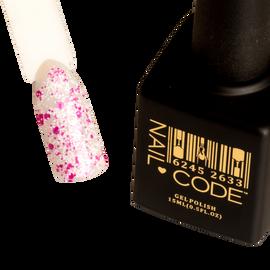 Nail Code Gel Polish - Pink Snow