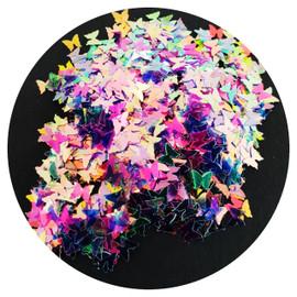 NC Glitter - Aurora Butterflies