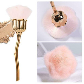 Rose Nail Dust Brush