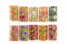 Nail art Foil - Floral Kit 5