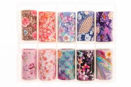 Nail art Foil - Floral Kit 6