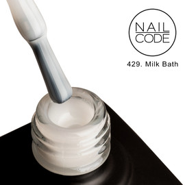 Nail Code Gel Polish - Milk Bath