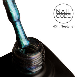Nail Code Gel Polish - Neptune (9d Cat's Eye)