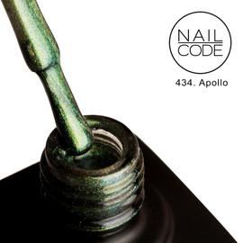 Nail Code Gel Polish - Apollo (9d Cat's Eye)