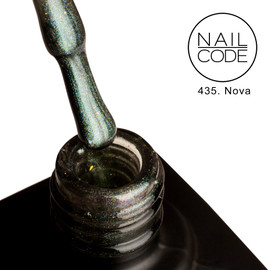 Nail Code Gel Polish - Nova (9d Cat's Eye)