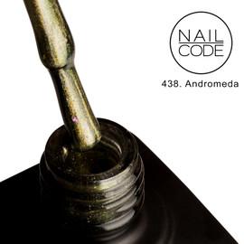 Nail Code Gel Polish - Andromeda (9d Cat's Eye)