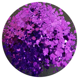 NC - Metallic Chunky Mix  (Dark Purple)