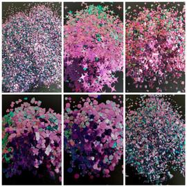 NC - Chameleon Glitter - Aqua/Purple