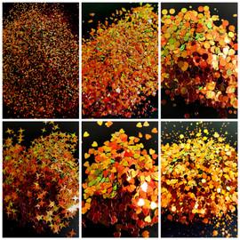 NC - Chameleon Glitter -  Amber/Gold