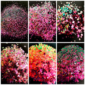 NC - Chameleon Glitter - Pink/Green
