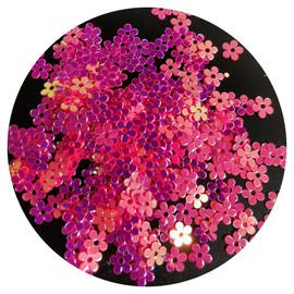 NC - Pink Iridescent flowers