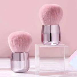 Metallic Pink Mushroom Dust Brush