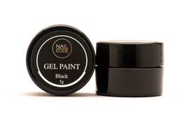 Nail Code - Black Gel Paint