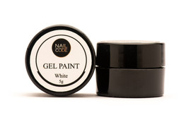Nail Code - White Gel Paint